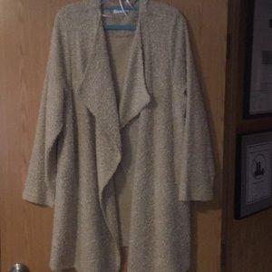 Women's size xl open front jacket nwot